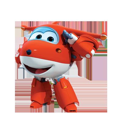 """飞机机器人乐迪与一群称为""""超级飞侠""""的小伙伴环游世界,为小朋友递送"""